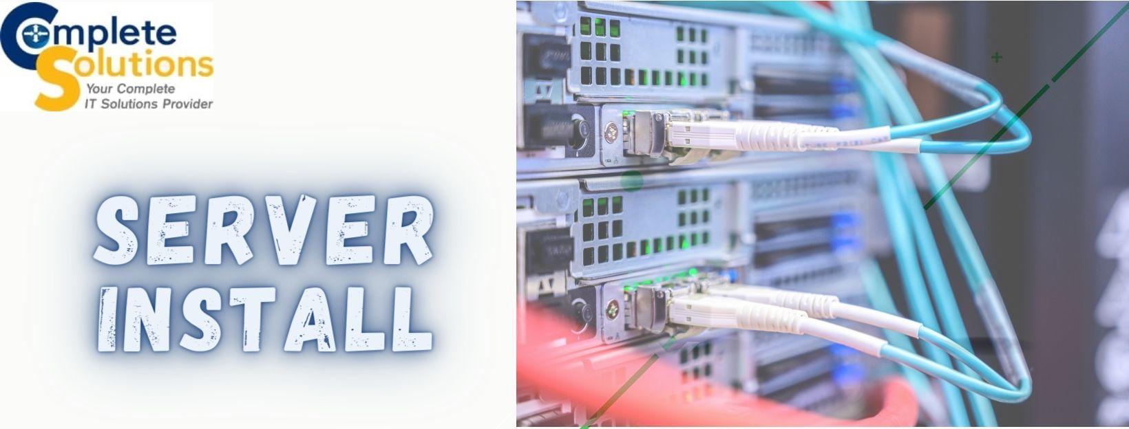Server Installation in Piscataway NJ